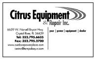 Citrus Equipment